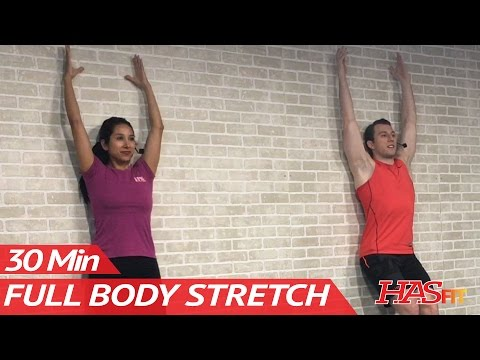 30 Minute Full Body Stretching Routine Total Body Stretch Exercises Improve Flexibility & Mobility