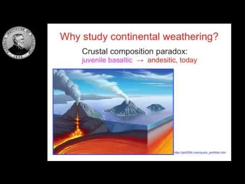 "Xiao-Ming Liu: ""Tracing Continental Weathering Using Lithium Isotopes"""