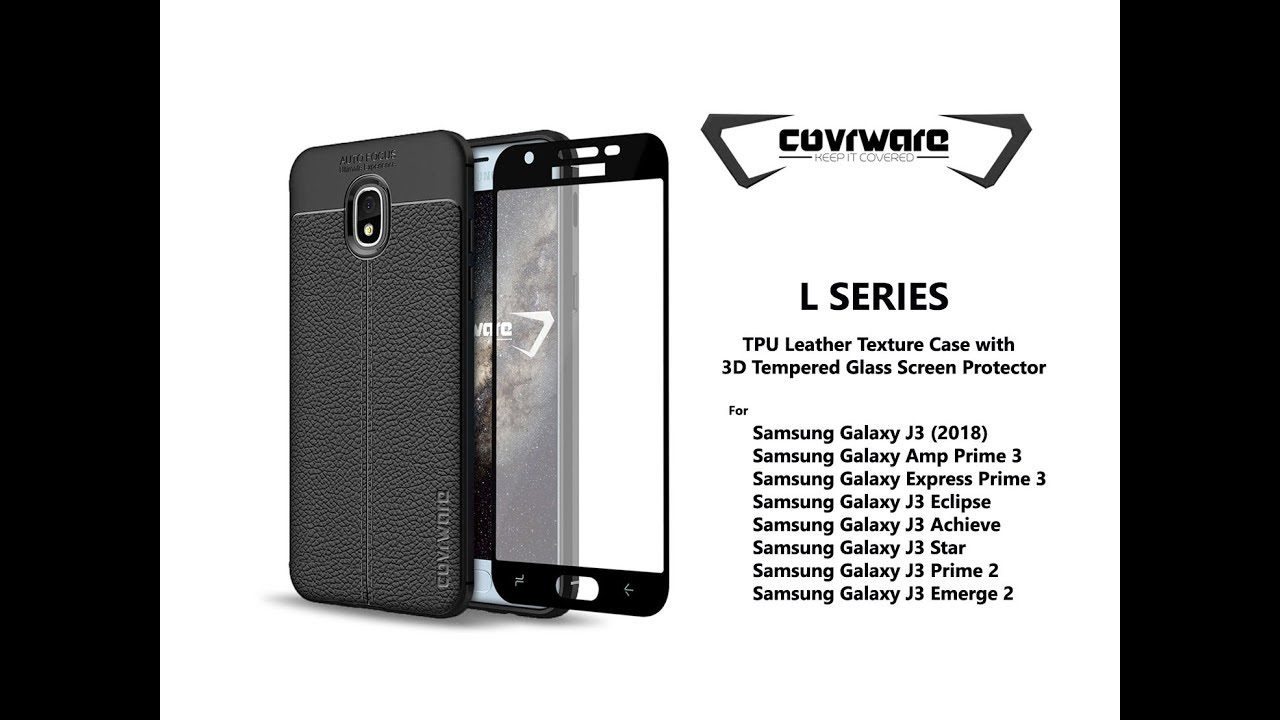 Samsung Galaxy J3 (2018) Screen Protection Videos - Waoweo