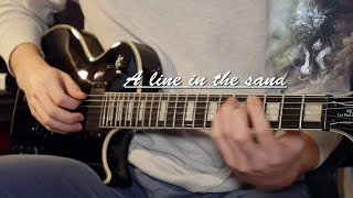 Linkin Park -A line in the sand - Guitar Cover HD (w. Solo)