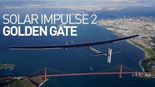solar impulse 2 flyover golden gate san francisco