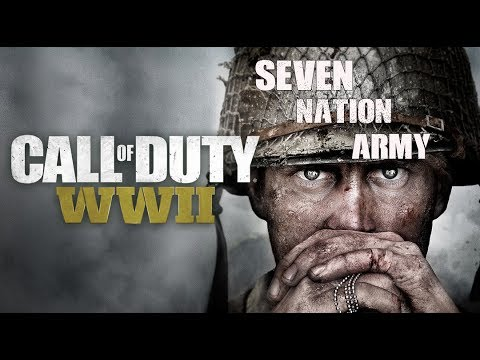 Call of Duty WW2 Trailers (The White Stripes - Seven Nation Army [Glitch Mob Remix] Edit)