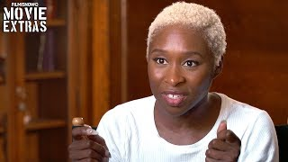 "WIDOWS | On-set visit with Cynthia Erivo ""Belle"""