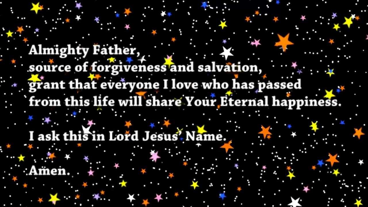 May eternal rest prayer