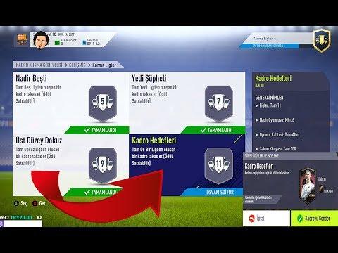 Kadro Hedefleri Mega Paketleri Kapmak   Fifa 18 UT