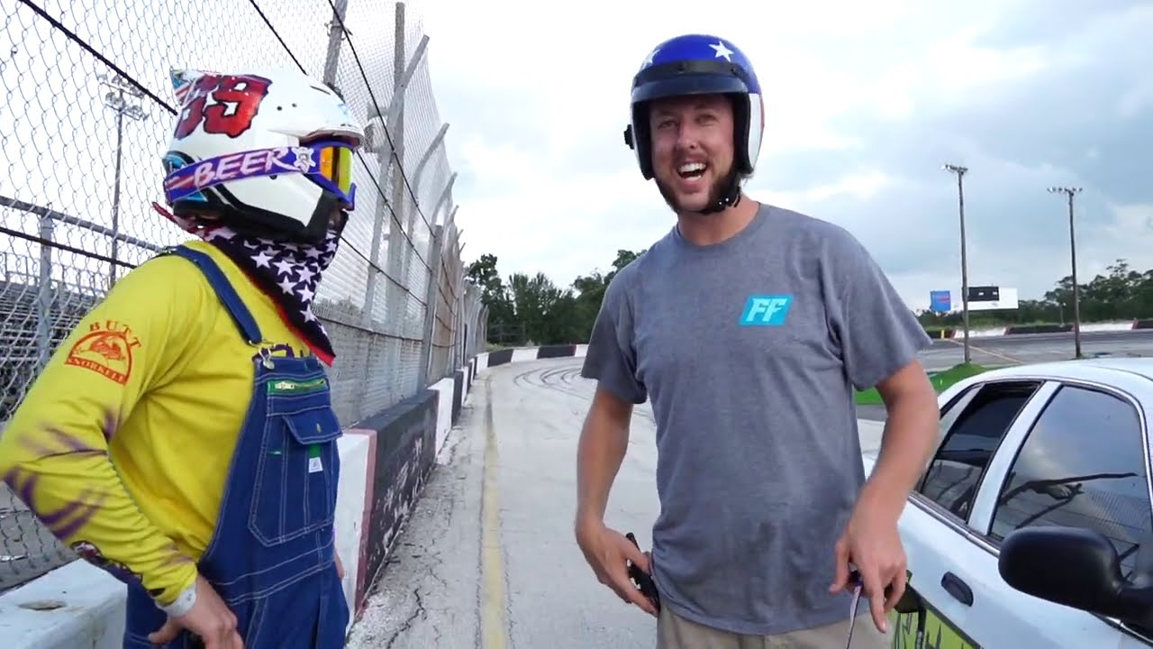 Cleetus McFarland Gives Ronnie Mac Driving Lessons!