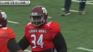 2019 Senior Bowl Practice Analysis    Day 1 OL vs DL (South)