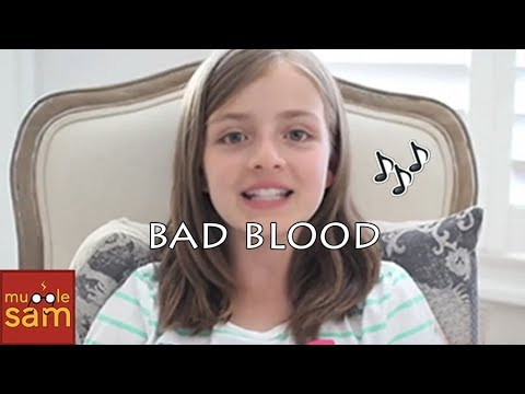 BAD BLOOD - TAYLOR SWIFT | 12-Year-Old Sophia...