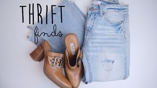 October Thrift Finds | The Fashion Citizen Thumbnail