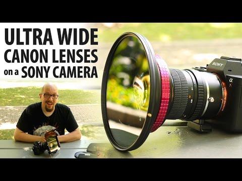 Ultra Wide Canon Lenses on a Sony Camera - Rokinon 14mm F2.8 + WonderPana
