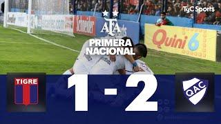 Tigre 1 VS Quilmes 2 | Fecha 1  | Primera Nacional | 2019/2020