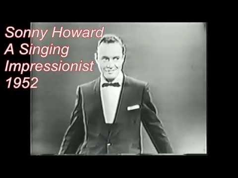 Sonny Howard A Singing Impressionist  1952