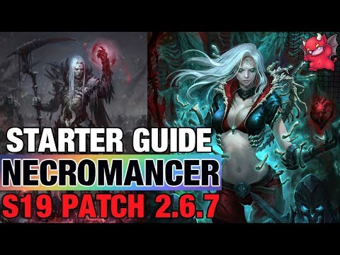 Necromancer Starter Build Season 19 Guide Diablo 3 Patch 2.6.7 Rathma