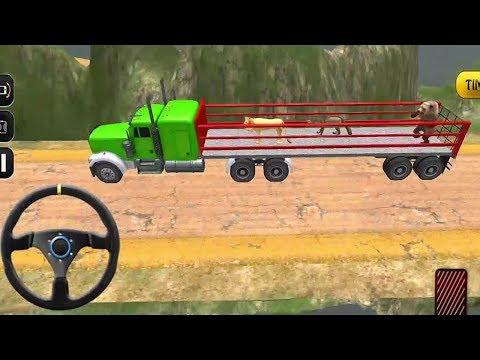 Animal Safari Transport Truck 2018 | Zoo Animal Transport - Android GamePlay FHD