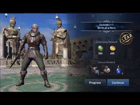 Extraordinary RPG Action Game Linage revolution 2 Gameplay Android iOS MMORPG