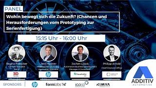 """ADDITIV Automotive: """"Chancen und Herausforderungen vom Prototyping zur Serienfertigung"""""""