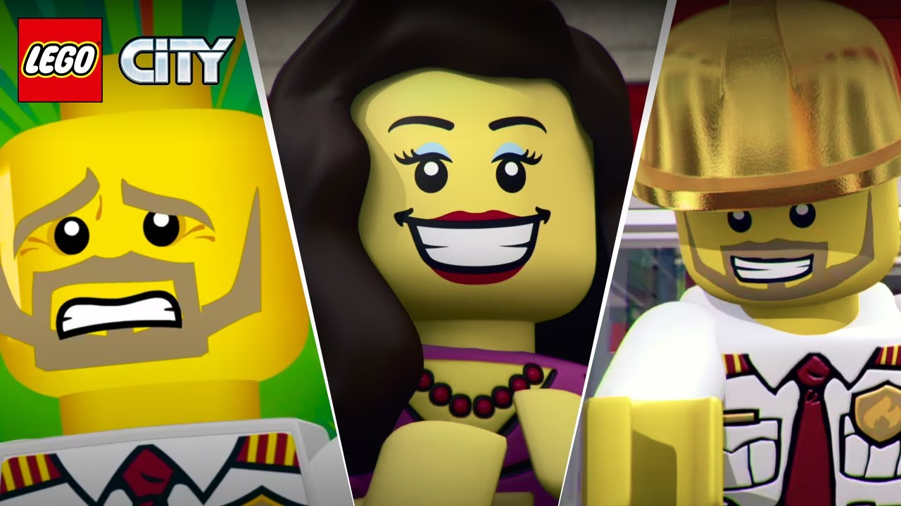 Mini Movies & Films Animation Compilation LEGO City Fire  - 2016, 2017 & 2018