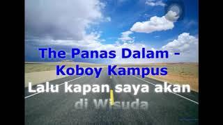 The Panas Dalam - Koboy Kampus