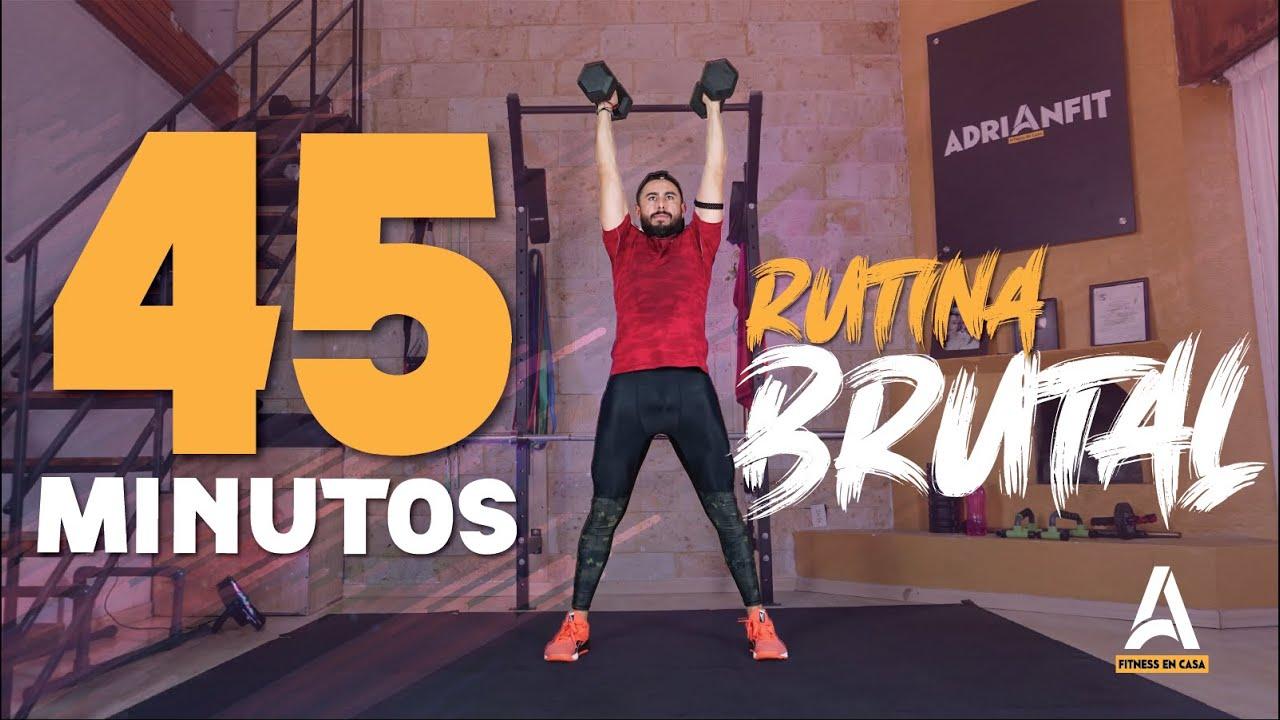 Rutina Brutal de 45 Minutos 🔥 Ponte MAMADÍSIMO!!