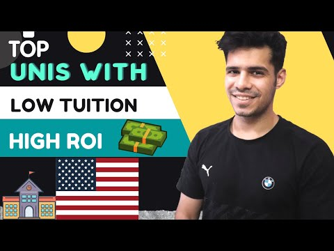 Cheapest Universities in USA with HIGH ROI    Top USA Universities with low Tuition