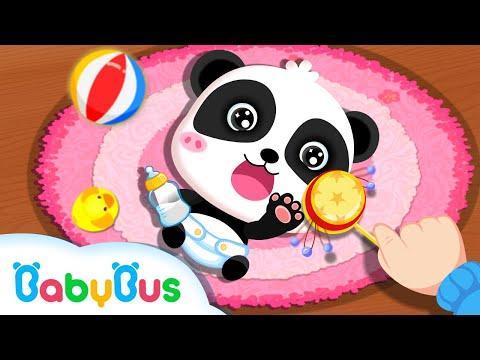 Si Imut Panda Miumiu Merawat Adik Bayi | Kartun Anak | Lagu Anak-anak | Bahasa Indonesia | BabyBus