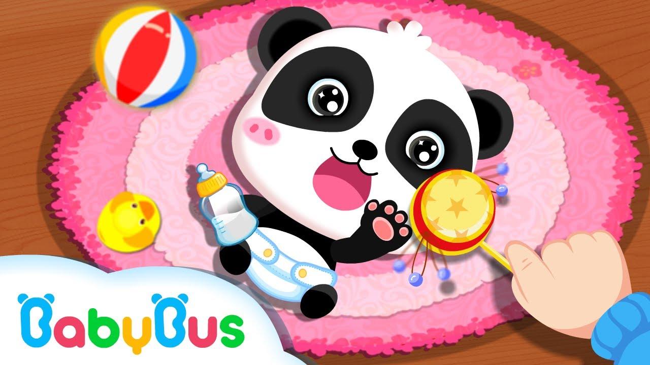 Si Imut Panda Miumiu Merawat Adik Bayi Kartun Anak Lagu Anak Anak Bahasa Indonesia