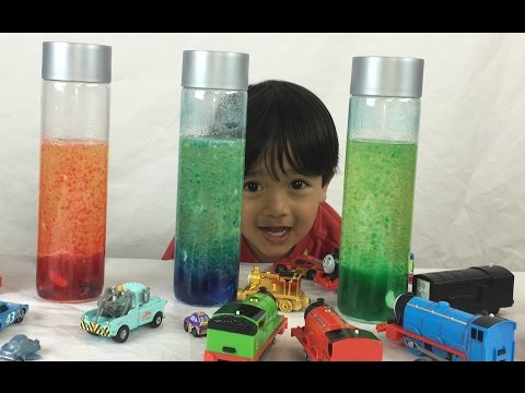 How to Make a Homemade Lava Lamp Easy Science Experiments for Kids with Thomas and Friends