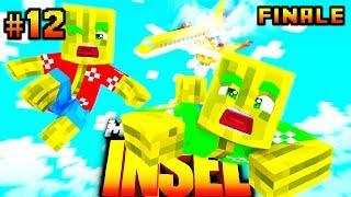 FLUGZEUG in NEUE WELT?! - Minecraft INSEL #12 (Finale) [Deutsch/HD]