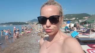 Черногория. Бечичи. Пляж. Август 2019