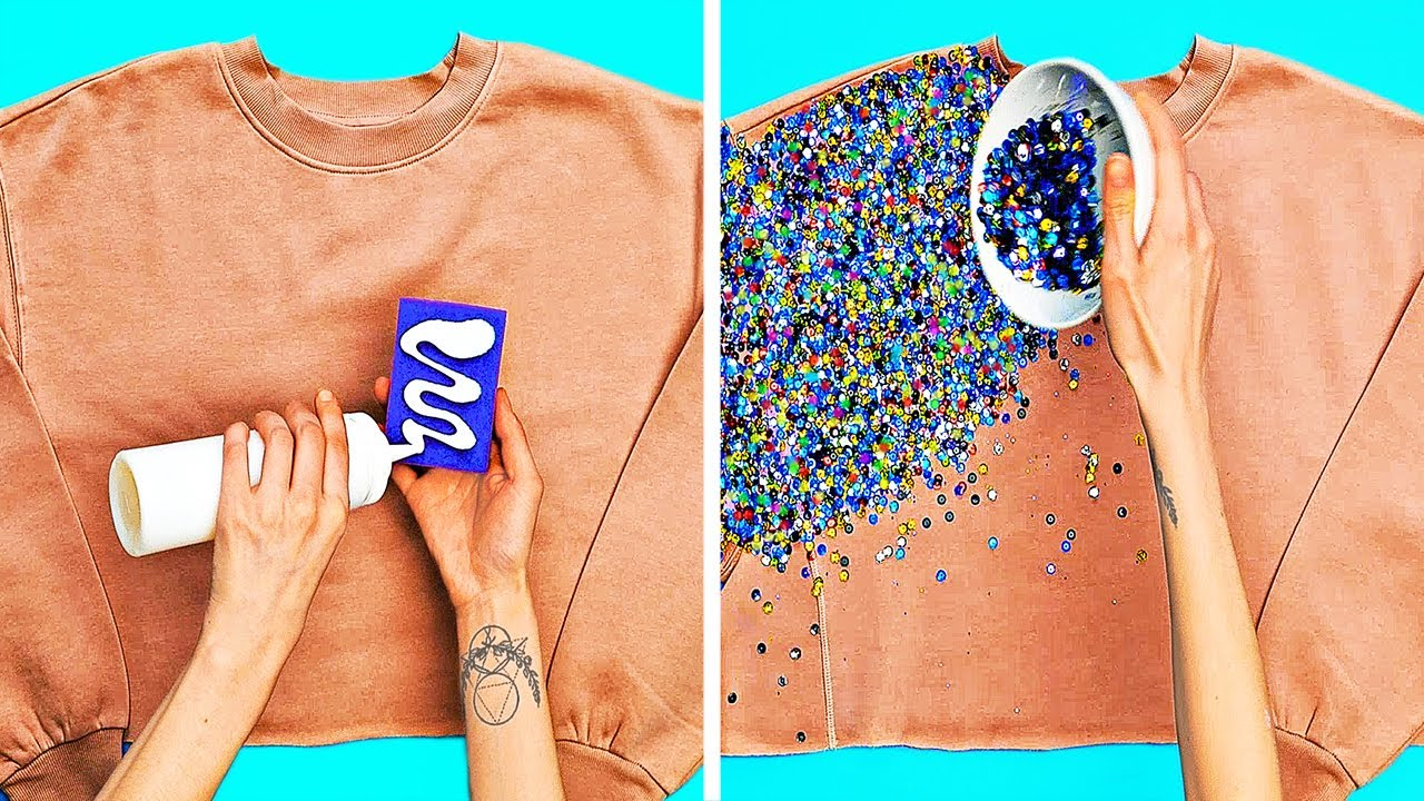 29 CREATIVE IDEAS TO TRANSFORM YOUR CLOTHES LIKE A PRO
