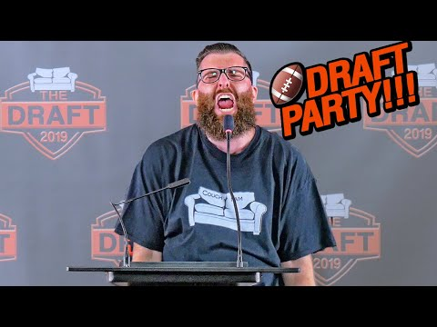 Fantasy Football Draft 2019 (Couch League)