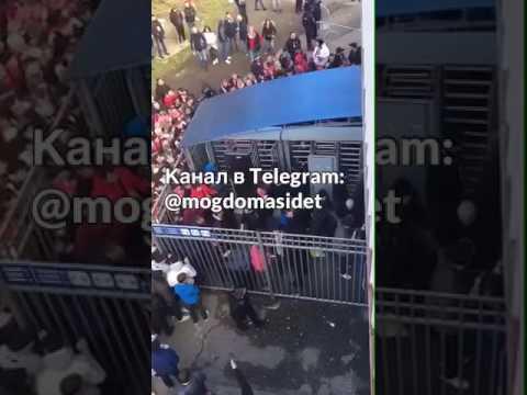 ОМОН избивает людей в Ростове