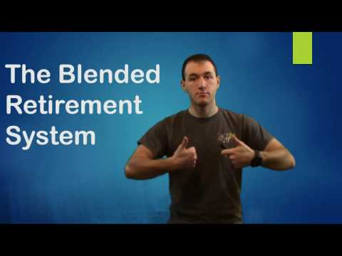 The Blended Retirement System - updated version