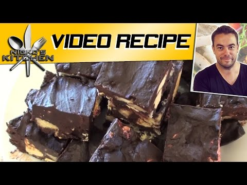 'LOADED' CHOCOLATE SLICE - VIDEO RECIPE