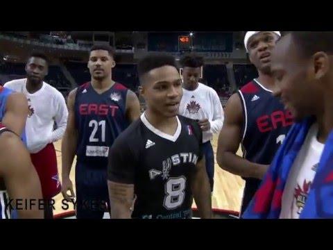 2016 NBA D-League Dunk Contest Highlights