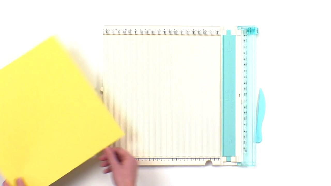 We R Memory Keepers Crafting Tools Trim /& Score Board