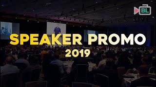 Speaker Promo 2019 | Bronkar Lee
