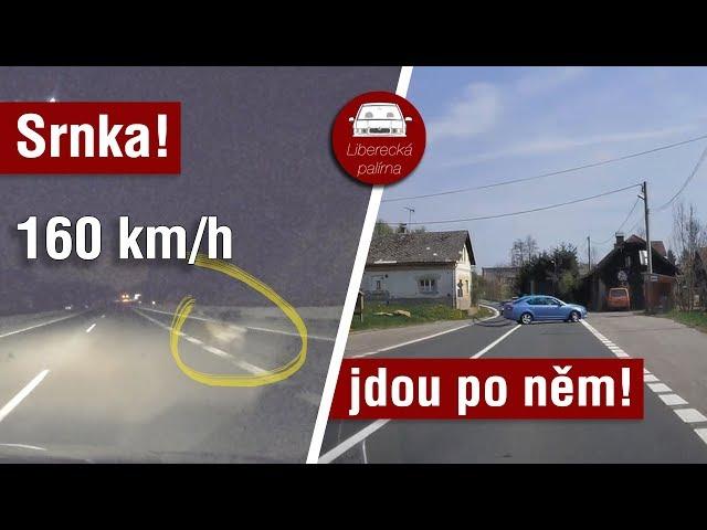 Srna ve 160 km/h, Policie v akci, Palírníková opět za volantem / Liberecká palírna #47