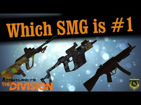 Tom Clancy's: The Division - Navy MP5 vs Vector 45 ACP Comparison - SMG - High End Blueprint