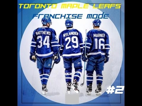 NHL 17 Franchise Mode The Toronto Maple Leafs Episode 2- Trade Time