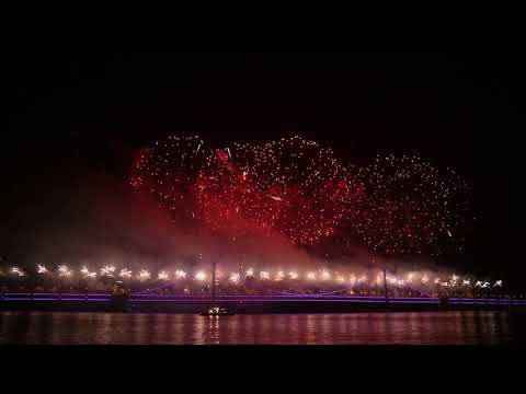 2018 Dalian(China) Firework Show大连跨年烟火秀