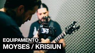 Invadindo o estúdio do KRISIUN - EQUIPAMENTO