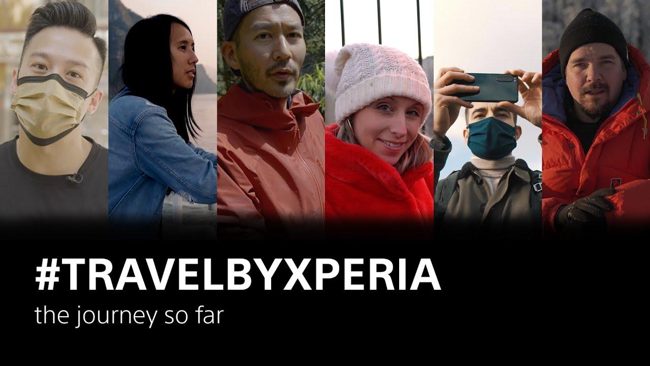 #TravelByXperia – the journey so far