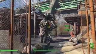 Воруем ядерный блок у Рейдера в Силовой Броне Fallout 4