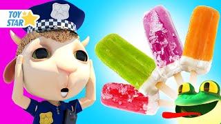아이스크림으로 과일과 야채를 만들어 보아요 | 아이스크림 동요모음집 | 틀찍기 놀이 어린이 유아 동영상 | 아이들의 재미있는 노래 💖 Dolly 응가송 💩 변기에 응가해요 #226