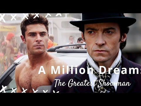 [MUSIC VIDEO] The Greatest Showman - A Million Dreams with Lyrics