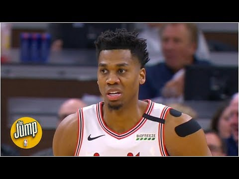 Should Every Big Man Have A 3-point Celebration Like Hassan Whiteside's? | The Jump