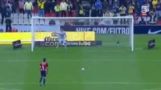 Tanda de Penales America Vs Chivas Semifinal Copa MX (26/10/16)
