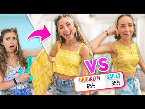 WHO Wore it BETTER? | DIY Challenge Twin VS Twin