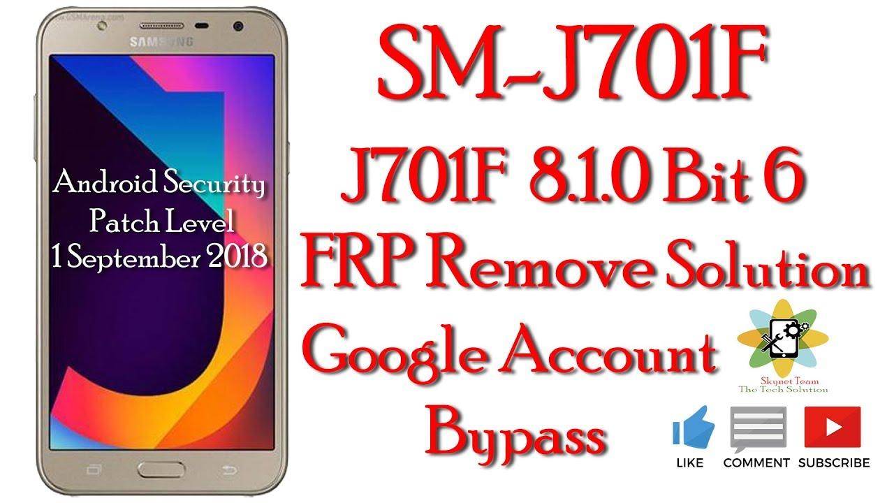 J701F 8 1 0 J701FDDU6BRI1 Frp Problem need solution